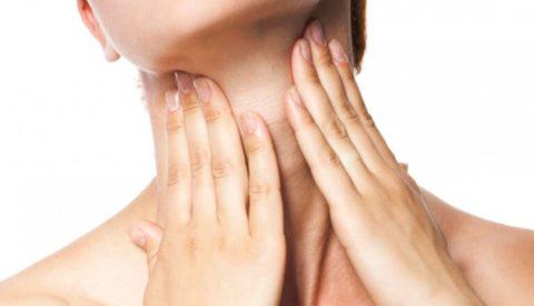 Рак щитовидной железы у женщин: первые симптомы