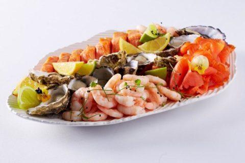 Свежие морепродукты – главный источник йода в рационе
