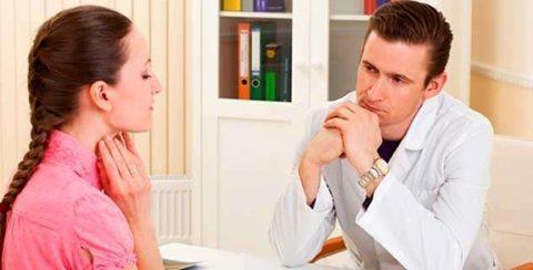 Увеличение размеров щитовидки – повод обратиться к врачу-эндокринологу