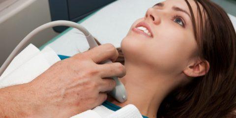 УЗИ позволяет определить размеры и морфологическую структуру щитовидки