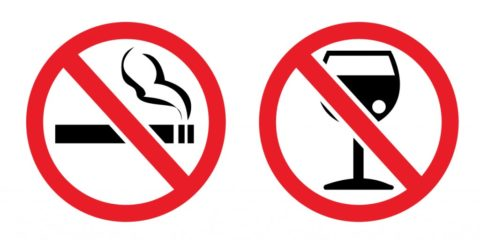 Курение и алкоголь способствуют развитию многих заболеваний, в том числе и щитовидной железы.