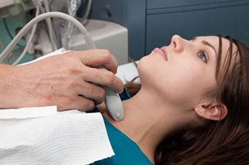 Ультразвуковое исследование мягких тканей шеи.