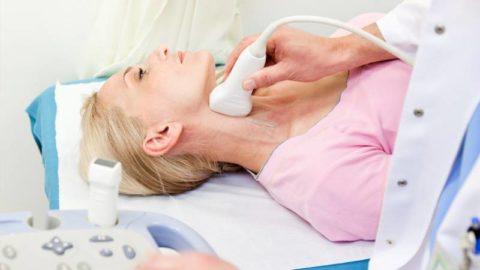 УЗИ щитовидной железы – один из самых эффективных методов диагностики причин гипотиреоза. Средняя цена процедуры в частных клиниках – 1200 р.