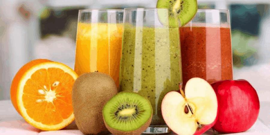 Разрешено употребление соков, морсов, фруктовых смузи
