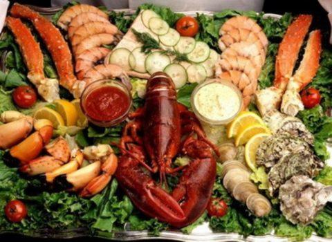 Йод в продуктах питания: таблица с продуктами богатыми и бедными на этот элемент питания