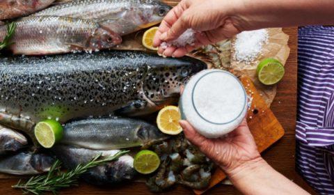 Морская рыба — источник йода.