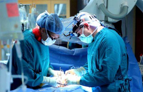 Операция по поводу диффузного токсического зоба.