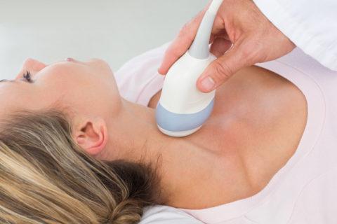 Диффузные изменения в паренхиме щитовидной железы приводят к неоднородности ткани