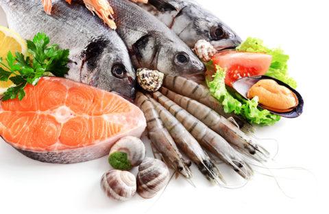 Морепродукты – основной пищевой источник йода, рекомендованный при эндемическом зобе