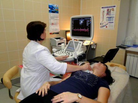 Никакой подготовки к УЗИ щитовидной железы не требуется