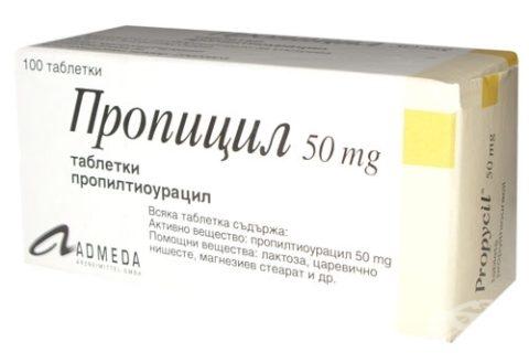Пропилтиоурацил, — один из препаратов, способных спровоцировать увеличение массы тела