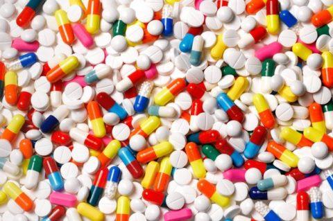 Таблетки.