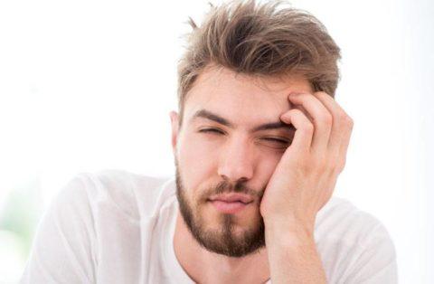 Повышенная сонливость один из симптомов заболевания щитовидной железы у мужчин