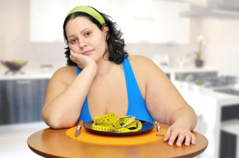 Соблюдение диеты не дает результата – следует проверить щитовидку.