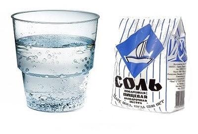 Диета подразумевает ограничения в приеме жидкости и соли.