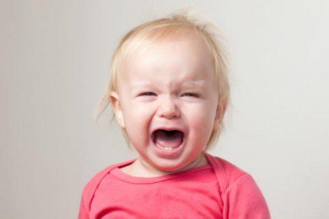 Многие детские проблемы начинаются с простого каприза и беспричинного плача