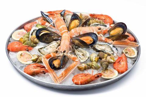 Полезные морепродукты при гипотиреозе