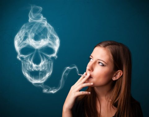 Курение – опасная зависимость, убивающая щитовидную железу.