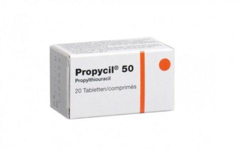 Пропицил - альтернативный препарат при тиреотоксикозе у беременных после дийодтирозина.