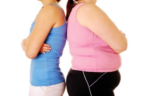 Быстрый набор лишнего веса – симптом развития патологий щитовидной железы.