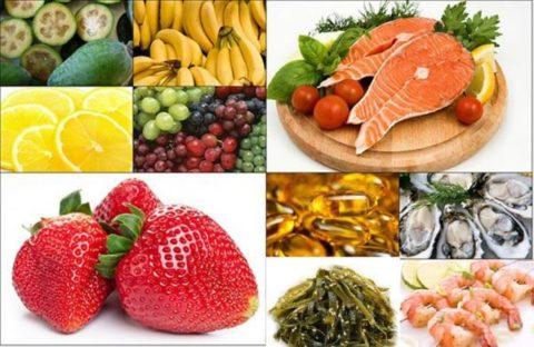 Для профилактики и лечения эутиреоза необходимо употреблять продукты питания с высоким содержанием йода.
