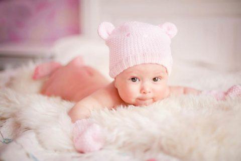 Физиологически высокий уровень ТТГ – у новорожденных малышей