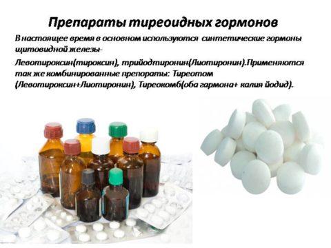 Гормональные препараты от тиреотоксикоза применяют осторожно