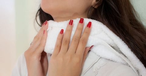Компресс на щитовидку с настойкой чистотела