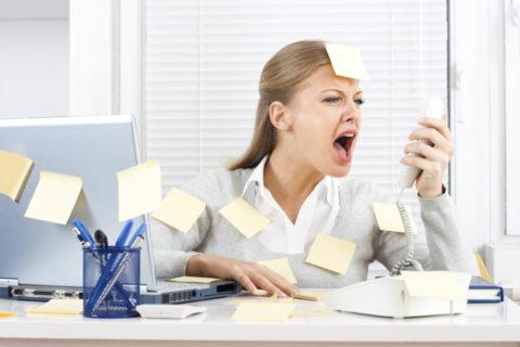 Повлиять на уровень ТТГ может стресс на работе