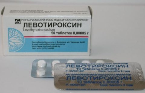 Препарат назначается при лечении заболеваний щитовидной железы.