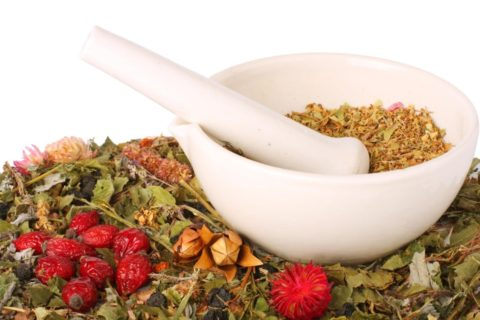 Сухие растения и ветви деревьев помогают при лечении эндокринологии у женщин и мужчин.
