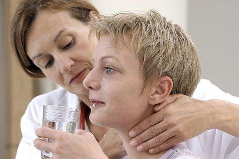 Больной гипотиреозом на приеме у врача