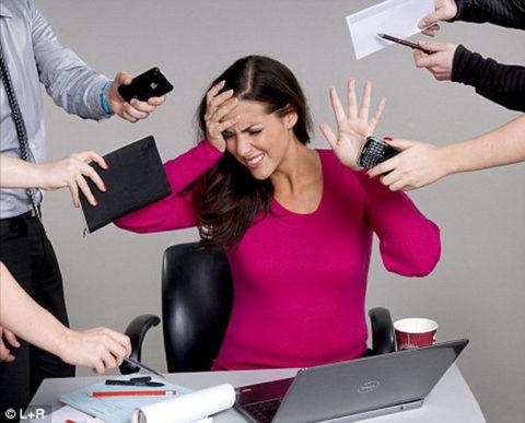 Хронический стресс одна из причин разлада работы щитовидной железы.