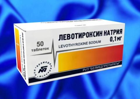 Левотироксин для лечения гипотиреоза