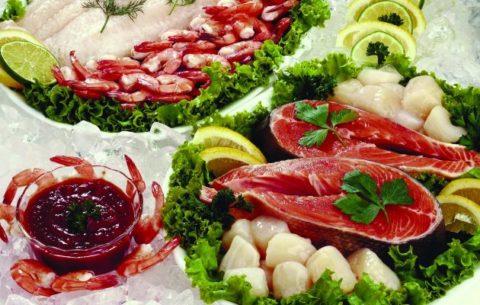 Морепродукты для устранения йододефицита