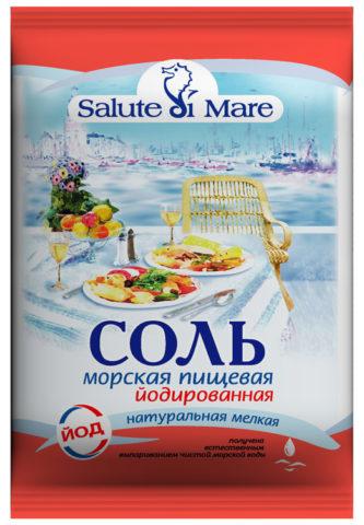 Морская пищевая соль йодированная должна употребляться ежедневно вместо обычной поваренной соли в качестве профилактики