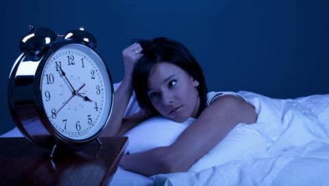 Нарушение сна – симптом повышенной концентрации ТТГ.