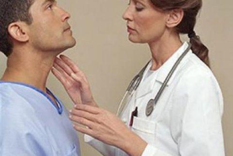 Нарушения в работе щитовидной железы у мужчин.
