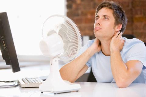 Нарушенная терморегуляция – один из признаков заболевания