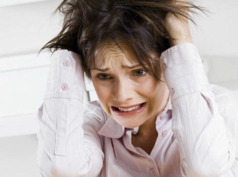 Нервное потрясение может разрушить ваше здоровье