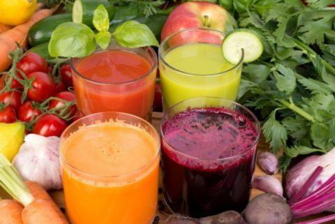 Овощные соки – это польза для щитовидки, витамины и микроэлементы для здоровья.