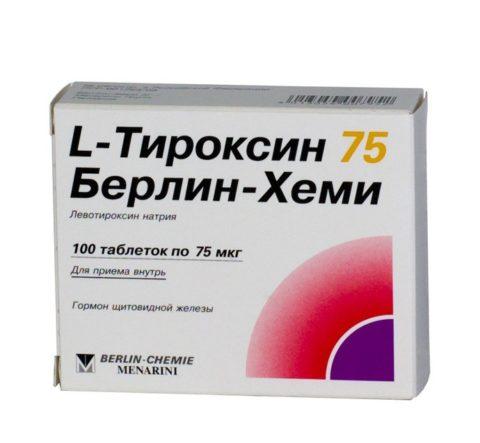 Препарат для заместительной терапии