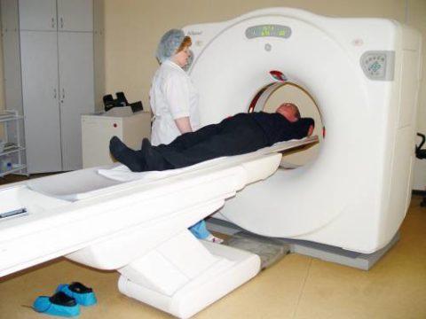 КТ является одним из методов дополнительных инструментальных исследования патологий щитовидки