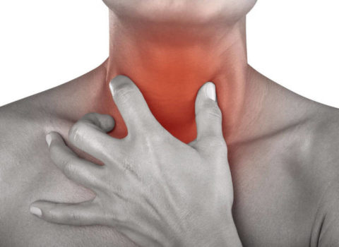 Боль в шее при глотании – признак заболевания щитовидки