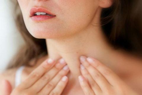 Боль в области щитовидной железы может быть признаком рака