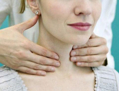 Ощущение дискомфорта или боли в шее является одним из признаков заболевания щитовидной железы