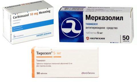 Тиреостатические препараты являются одним из самых действенных способов борьбы с тиреотоксикозом