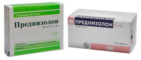 Преднизолон часто назначается при подостром тиреоидите