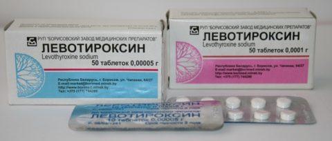 Левотироксин показан при гипотиреозе различного генеза