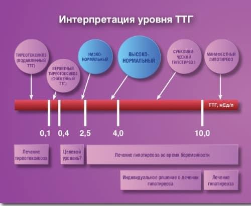 Вопрос Людмилы о перепадах уровня ТТГ